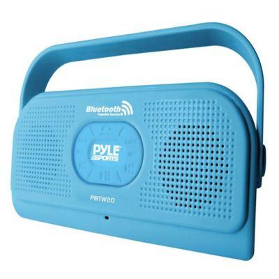 Parlante Bluetooth Resistente al Agua Azul