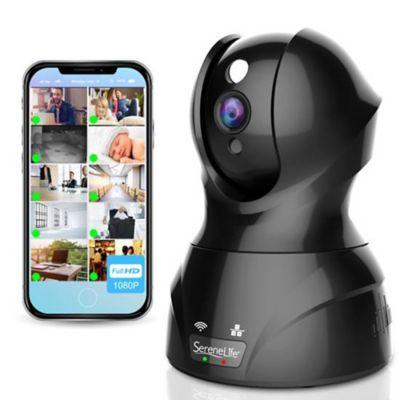 Cámara de seguridad IP WIFI 1080P Negro