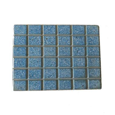 Piso Loseta Cuadrato Azul 30x30cm Caja X24m2