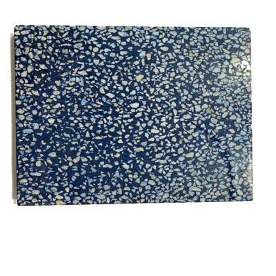 Piso Baldosa Negro San Gil Fondo Azul 30x30cm Caja X 24m2