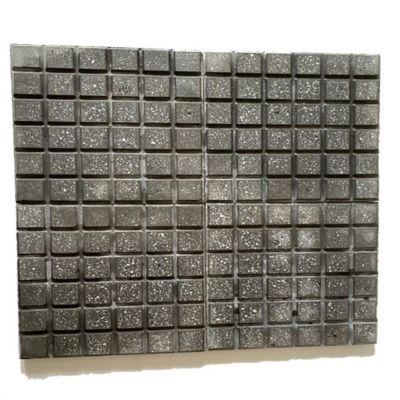 Piso Loseta Cuadrato Negra 30x30cm Caja X 24m2
