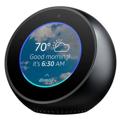 Amazon Echo Spot Reloj Despertador Con Alexa Negro