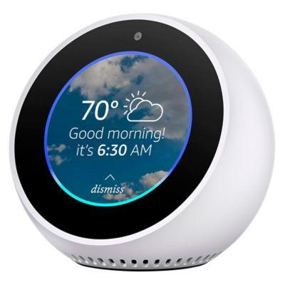 Amazon Echo Spot Reloj Despertador Con Alexa Blanco