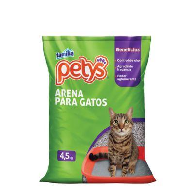 Arena Gatos Petys X4.5 Kilo Gramos