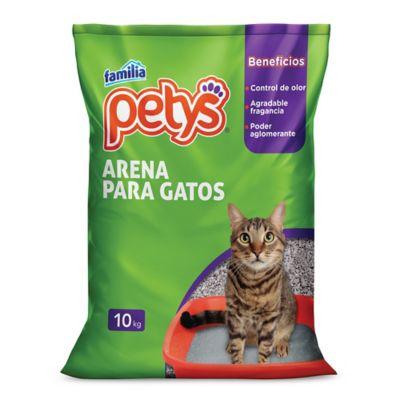 Arena Gatos Petys X10  Kilo Gramos