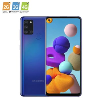 Celular Samsung A21s 64gb Azul