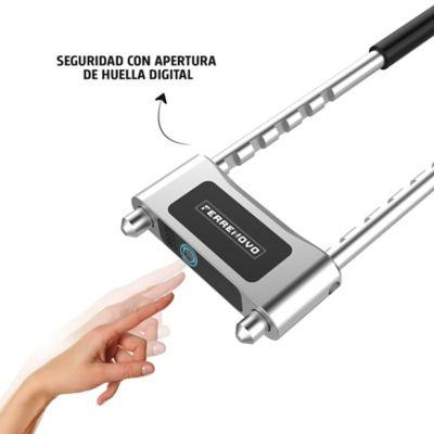 Candado Tipo U de Apertura con Huella Digital