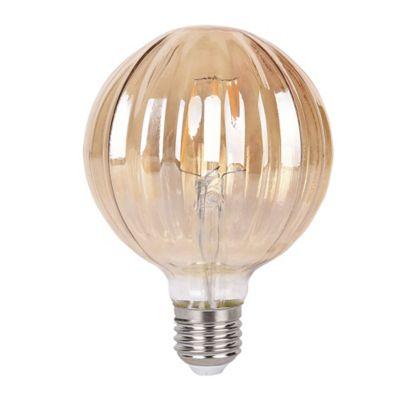 Bombillo Filamento G95 LED 4W 2700K 120V Ambar