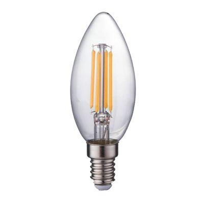 Bombillo Filamento LED T/Vela 4W E12 3000K