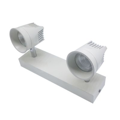 Spot Sn LED 5W 2 Luc 85-265V Cob 70Lm/W Ln707-2