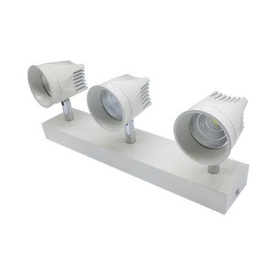 Spot Sn LED 5W 3 Luces 85-265V Cob 6500K 70Lm/W