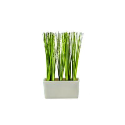 Planta Artificial Pasto 14.5X27 Centímetros Multicolor