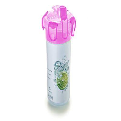 Botella Agua con Filtro de Te 700ml Magenta