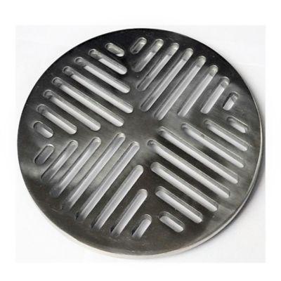 Rejilla Plana Decorativa 5 pulg Aluminio Tubería 4 pulg