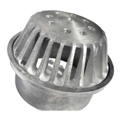 Rejilla Cúpula 4 pulg x 3 pulg Aluminio Tubería 3 pulg