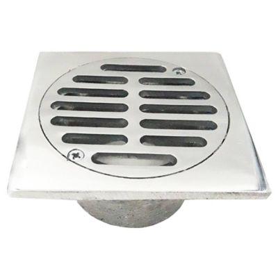 Rejilla Tradicional 6 pulg x 6 pulg x 4 pulg Aluminio Tubería 4 pulg