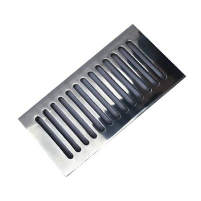 Rejilla Plana Decorativa 4 x 8 Aluminio Ductos Gas Vent