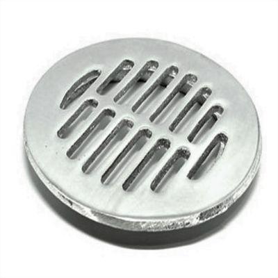Rejilla Plana Tradicional 4 pulg Aluminio Tubería 4 pulg
