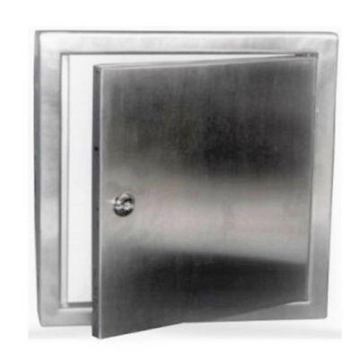 Tapa Registro 8 pulg x 8 pulg (20 x 20Cm) Aluminio
