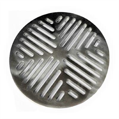 Rejilla Plana Decorativa 8 pulg Aluminio Ductos Gas Vent