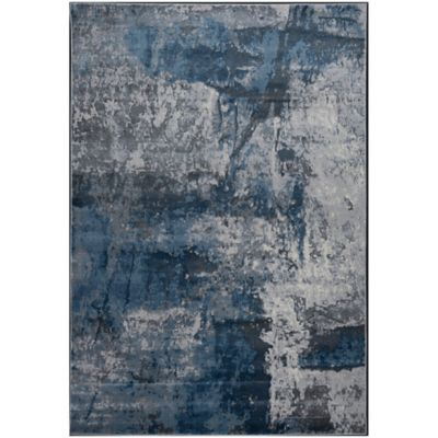 Tapete de Área Santorini 183x274 cm Gris