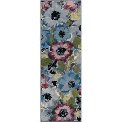 Camino Blossom 61x213 cm Azul