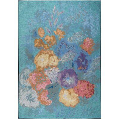 Tapete de Área Turquoise 152x244 cm Turquesa