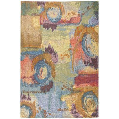 Tapete de Área Aquarelle 152x244 cm Multicolor