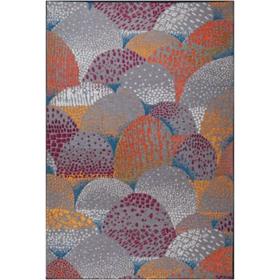 Tapete de Área Denali 183x274 cm Multicolor
