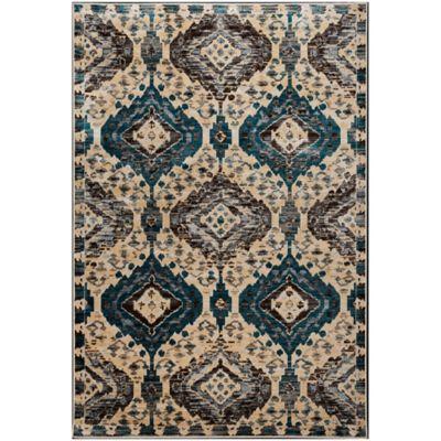 Tapete de Área Aryanah 152x244 cm Multicolor