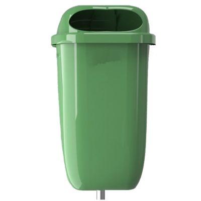 Contenedor de Residuos Poste 50Lt Verde