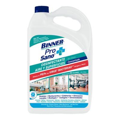 Desinfectante sin Cloro Binner Prosano Aire Superficies