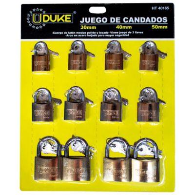 Candado Cartón Dorado 30-40-50