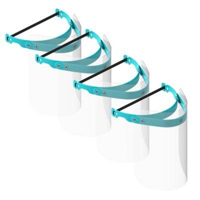 Set x4 Mascarillas Protección Facial
