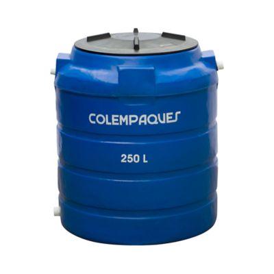 Tanque Agua Tricapa Cilíndrico 250 Litros