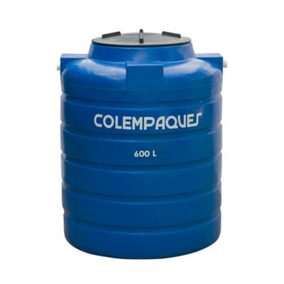 Tanque Agua Tricapa Cilíndrico 600 Litros