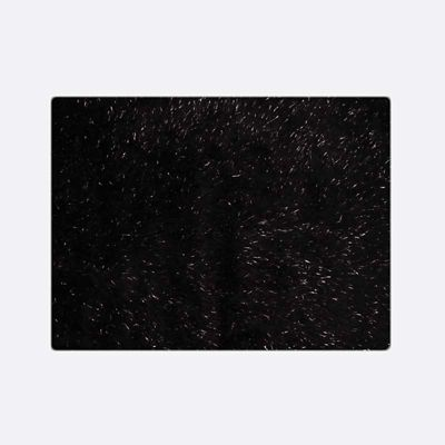 Tapete Decorativo Jewel 120x170cm Negro Lurex