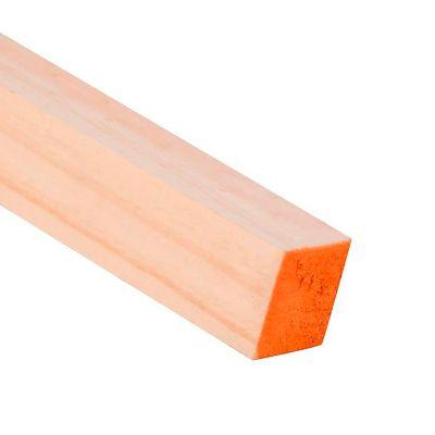 Pino 2X2 Pulgadas 3.2  mts Cepillado 4.1X4.1 cm