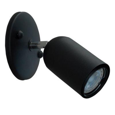 Aplique Spot Lance 1 Luz Negro