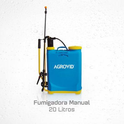 Fumigadora Pulverizador Manual 20 Litros