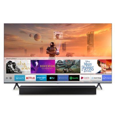 Televisor 50 Pulgadas 4K UHD + Barra de Sonido