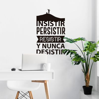 Sticker Decorativo Persistir