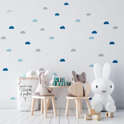 Sticker Decorativo Infantil Patrón de Nubes