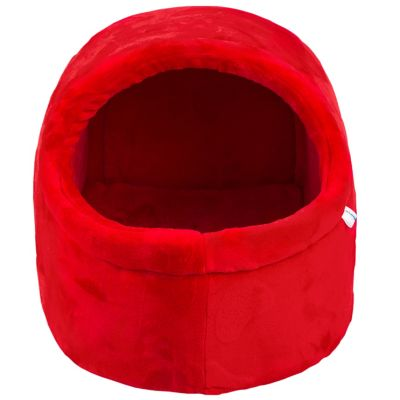 Casa para Gato L1818 50x45x38cm Rojo