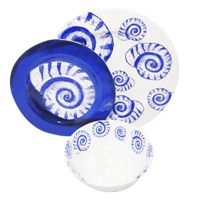 Platos de Melamina (Plano.Medio.Bowl) Shell