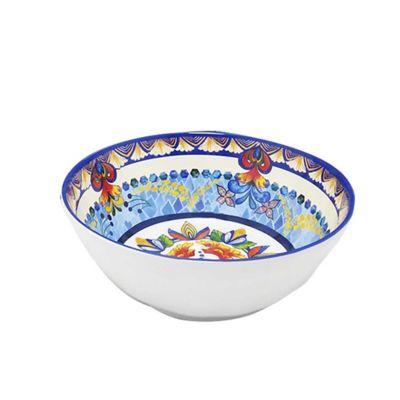 Plato de Melamina Set de 4 Platos Bowl Dusit