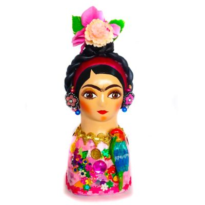 Figura Decorativa Cerámica Frida