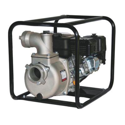 Motobomba Aluminio Diesel 4pgx4pg 6.7hp Ruedas-Manij