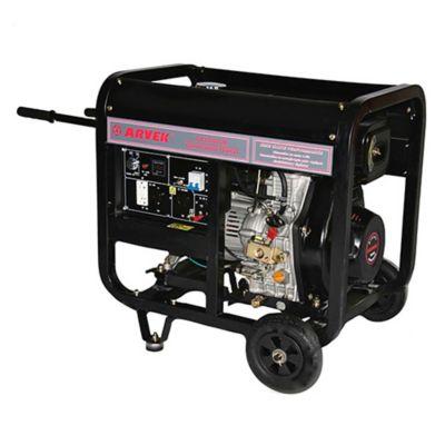 Generador Eléctrico a Diésel 5000W 110/220V Abierto