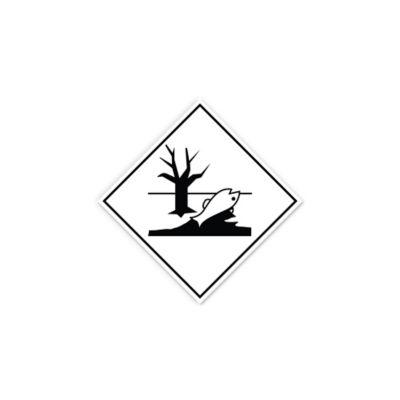 Set 4 Señales Rotulado Sustancia Dano Ambiental